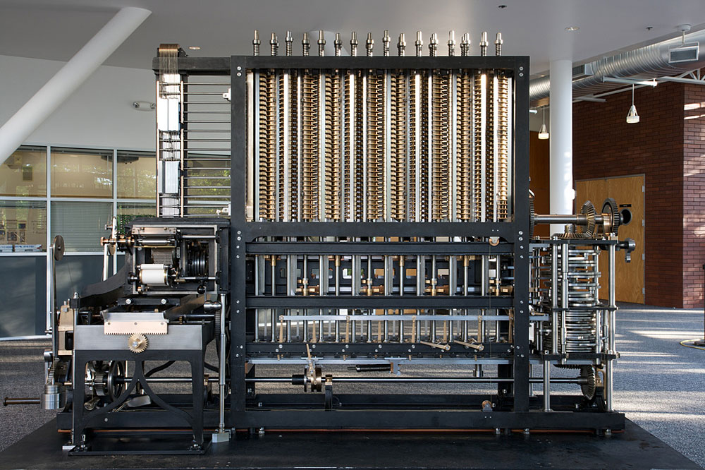The Difference Engine No. 2